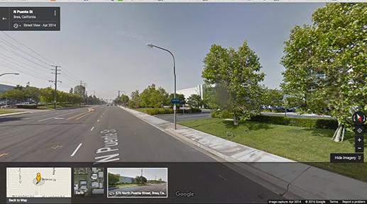 Google Streetview of Wheechair88 USA service centre.